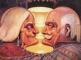 Old and Young Optical Illusion