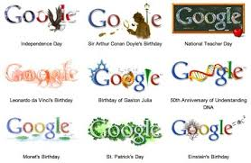 Its the holiday Google doodle
