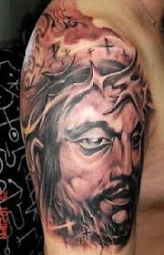 Jesus Tattoo Exotic