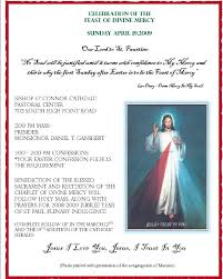 About Divine Mercy Sunday