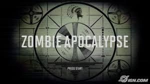 zombie apocalypse (Part 1)
