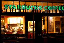 Starbucks coffee shops to