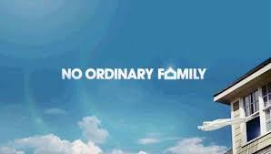 No Ordinary Family Banner Logo