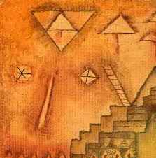 Paul Klee Treppe und Leiter 1928 (Stairs and Ladder)