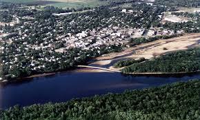 File:Portage Wisconsin aerial