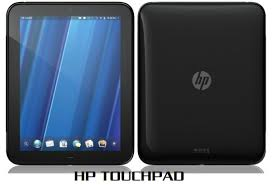 HP touchpad tablet picture HP