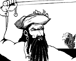 The Story of Blackbeard the