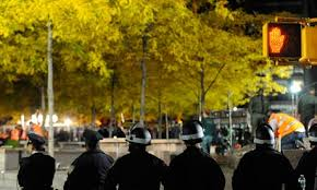 Zuccotti Park. Photograph: Stan Honda/AFP/Getty Images