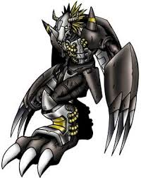 Digimon Adopts Xaki Game BlackWarGreymon
