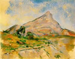 La fameuse sainte victoire Cezanne%20%20le%20mont%20ste%20victoire42