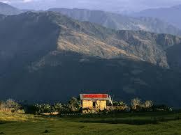 Photo: Mountainside in Bhutan