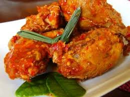 ayam bakar rica masakan indonesia