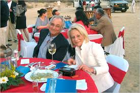 Bernie and Ruth Madoff