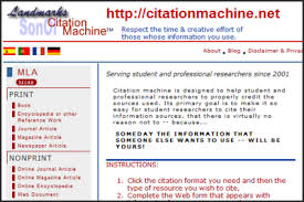 Son of Citation Machine