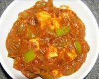 how to cook paneer with capsicum