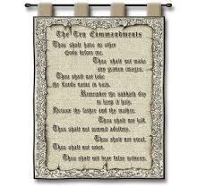 The Ten Commandments Wall