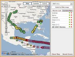 Keep track of hurricane