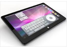 apple tablet Ecco a voi l'iPad Apple con display Multi Touch. Guarda il video.