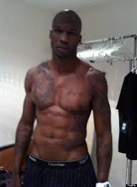 Chad Ochocinco Strips Down For