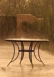 بارون روی میز
