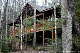 Romantic Log Cabin In Woods