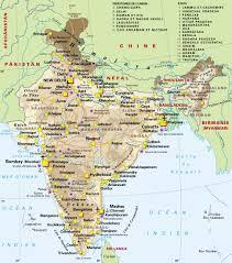 Itinéraire prévu dans VOYAGE EN INDE map2