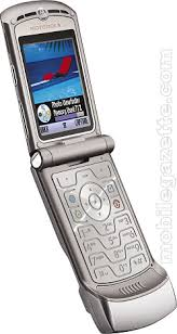 Motorola RAZR V3 16th May 2007
