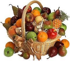 عکس سبد پر از میوه جات