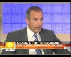 Today show host Matt Lauer