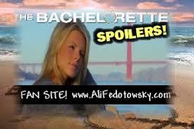 Ali the bachelorette spoilers