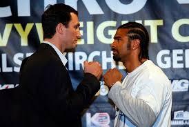 Klitschko vs Haye Live Boxing
