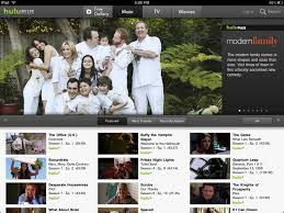 The iPad version of Hulu Plus