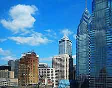 Philadelphia enjoys a moderate