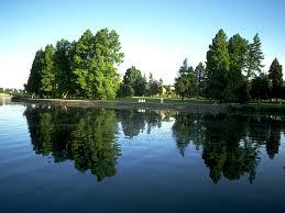 Lakeside park walking trail