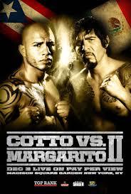 Cotto vs Margarito 2 Official
