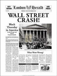 Stock Market Crash � Lesson