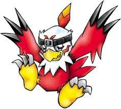 Digimon Adopts Xaki Game Hawkmon