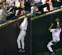 Steve Bartman and Moises Alou