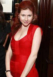 Anna Chapman looks good in her