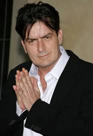 Charlie Sheen announced this