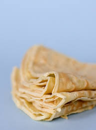 Fresh Sage Crêpes with Washington Apple-Dried Currant Chutney, Blue Cheese and Toasted Hazelnuts