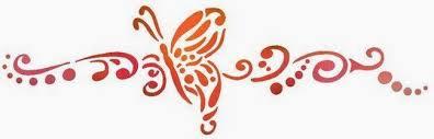 papillon%2520frise%2520stylisee dans Méditation
