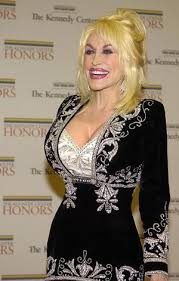 Dolly Partons breasts may be