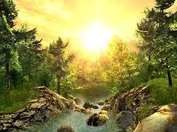 عکس بسیار زیبا از طبیعت - سه بعدی