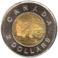 Kristen Shop Polar_bear_canadian_dollars_toonie_coin_reverse