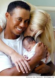 tiger wood's family