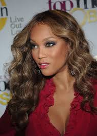 Celebrity Hair Style With Image Tyra Banks Real Hair Gallery Picture 5