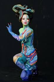 Body Painting Japan