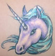 Tribal Unicorn Tattoo Design 1
