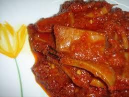 sambal sotong kering